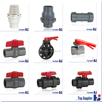 Factory manufacturing pipe fitting and plastic valve
