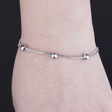 2018 925 sterling jewelry bangle charm silver bracelet for women