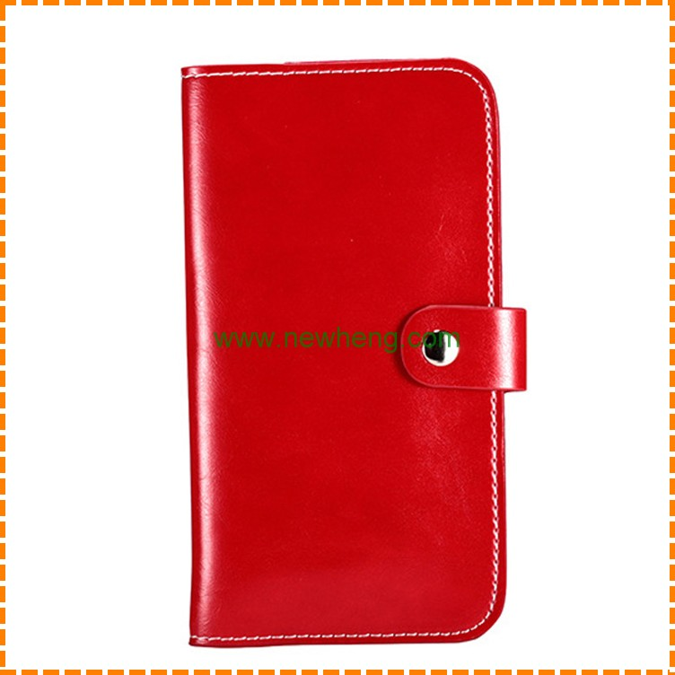 crazy horse material universal smart phone wallet style leather case for iphone 7