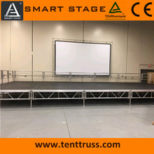 church stage platform, aluminum plywood stage, concert stage