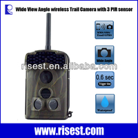 5310WMG MMS SMS Motion Detection 3 PIR Sensor 12MP 720P Digital Scouting Animal hunting Camera with Night Vision 940NM or 850NM
