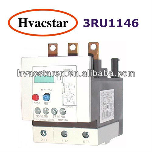 3RU Thermal Relay Overload Relay for Siemens Plug-In thermal overload relay(3RU1146)