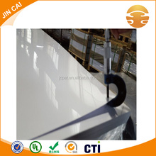 White Solid Rigid PVC Sheet With Glossy Surface