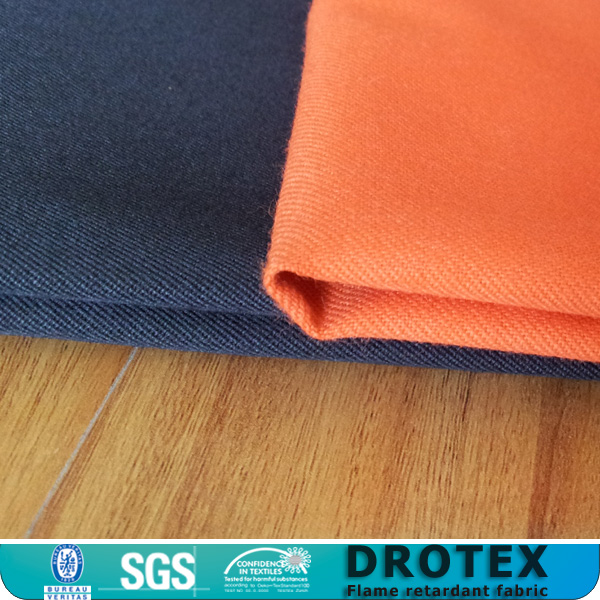 Red permanent flame retardant armaid and kevlar fabric for clothing