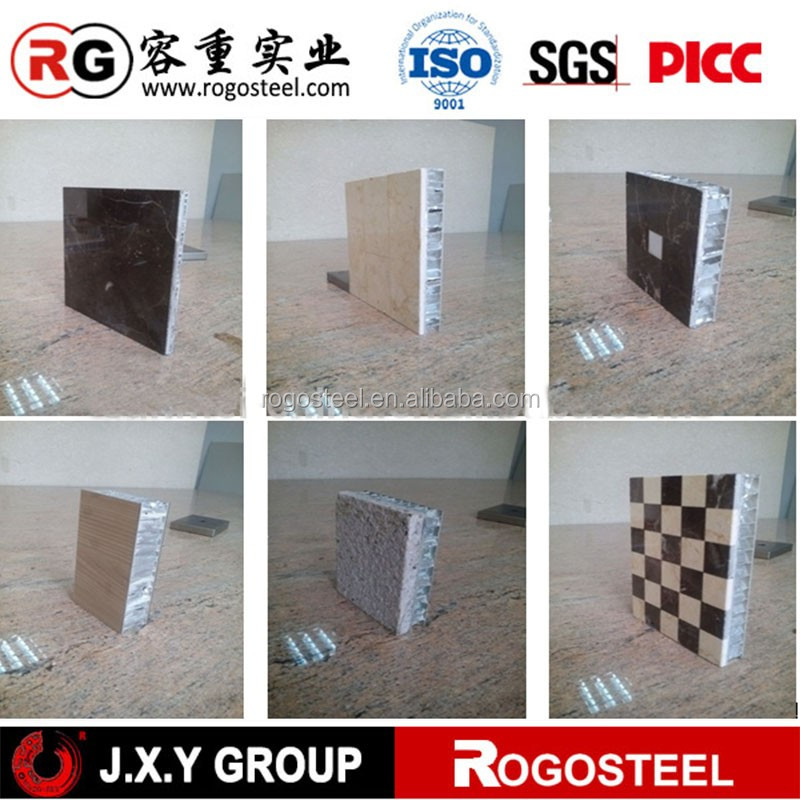 Honeycomb Core Foil Thickness 0.08mm elevator wall panel with Aluminum 3003/5052