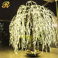 Holiday warm white light led street willow tree for garden decoration