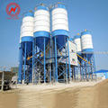 ISO auto/ manual mixing station concrete batching plant with pump