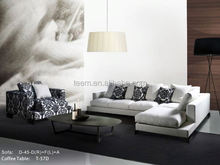 Big Corner Sofa for Living Room, Modern Fabric Corner Sofa classical pictures of sofa set
