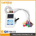 CE ISO 12 channel 12 Lead Color LCD display mini holter ECG with 24 Hours recorder