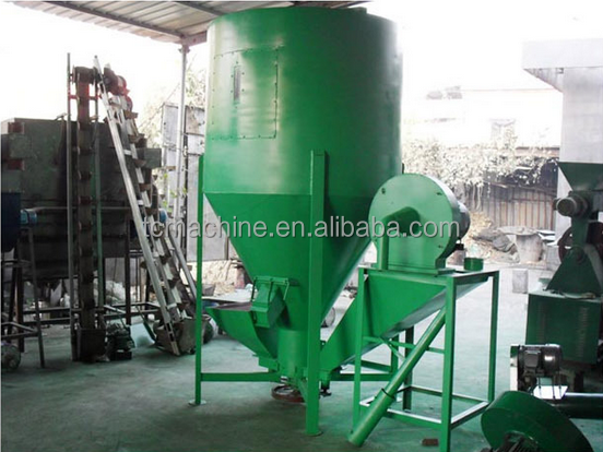 pig feed crusher and mixer hammer mill / cow feed crusher and mixer / animal feed mill