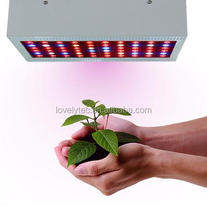 Indoor solar power plants lamp full spectrum 5 watt chip led grow light panel 300w wholesale