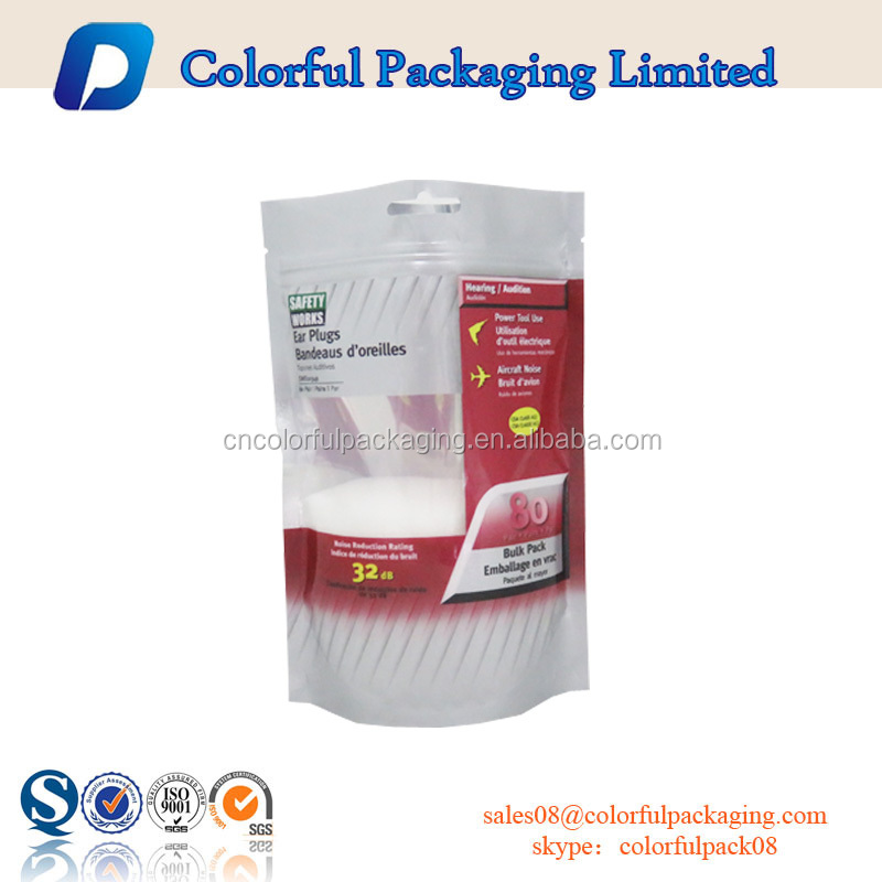Customize packaging sealing bags salt bag with window matcha packaging for food
