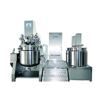 CE, GMP certificated adopt three layers stainless steel daily chemical care products making vacuum mixer from Sina Ekato