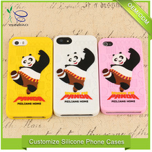 China low price products kungfu Panda for iphone bumper case