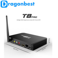 receiver america for amlogic apk download T8 Pro S812 2G 8G Quad core KODI16.0 android 5.1 tv box