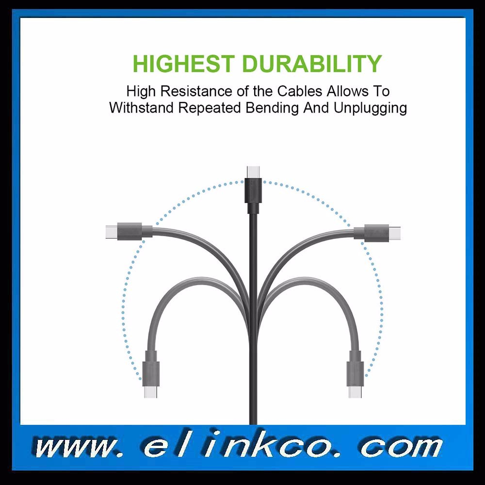 popular Type C USB 3.1 to VGA Cable bulk from Elink