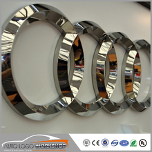 3D Metal Polished Finish Auto Car Logo Vehicles Logo Signs