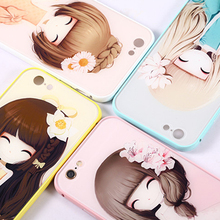 Aluminum Bumper Phone Cases for iPhone 6 Case Custom Image Printing Back Housing Cover