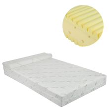 Vacuum Compressed Eco-friendly Bamboo fiber fabric High-density Memory Foam Synthetic Mattress