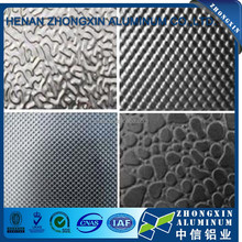 Hot sale 1050 1060 1100 decorative pattern embossed aluminum sheet / plate
