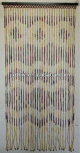 Simple Design 2013 Mosquito Net Natural Bamboo And Woods Bead Curtain