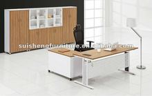 High quality modern design good MFC with steel leg office desk