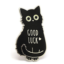 Custom Cute Cartoon metal enamel Lapel Cat Pin