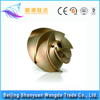 customized precision copper lost wax casting foundry copper casting part