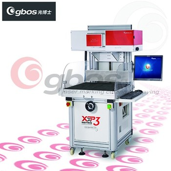 Paper Card and Bag Leather Carving Laser Marking Machine CO2 laser marking machine GBOS LASER