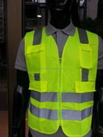 Heavy Duty Maintenance, Repair, Operations, Construction, Outdoor and Sports Reflective Safety Vest L/XL- Neon Yellow