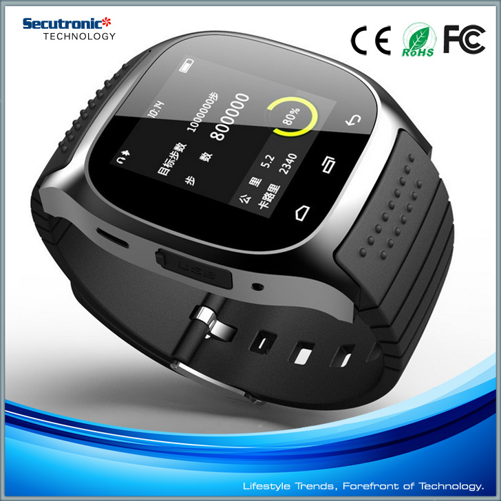 2016 China Hottest sale Smart Watch M26 for Android Bluetooth