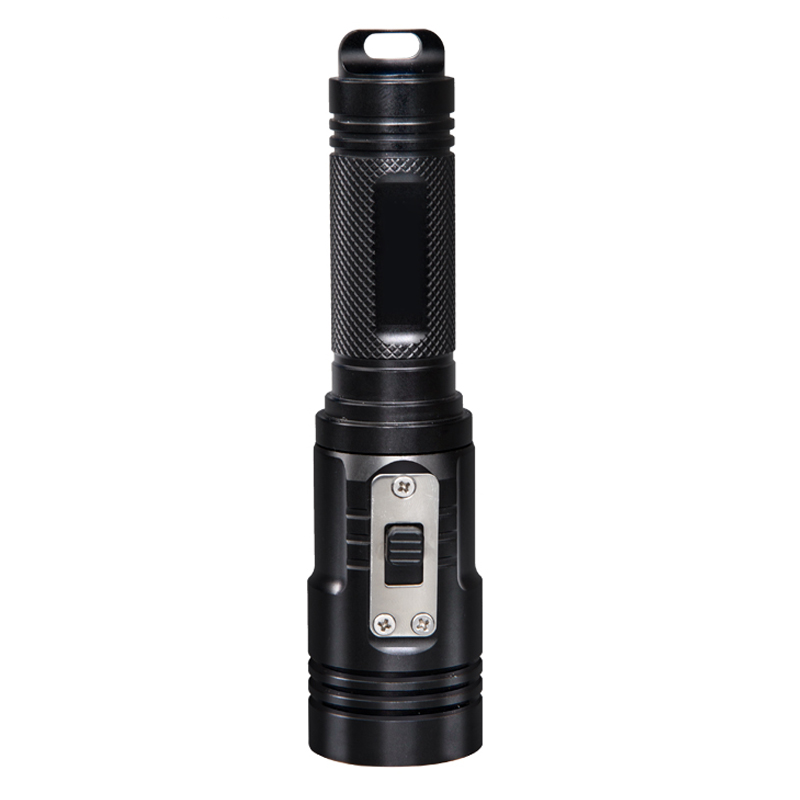Supfire led waterproof flashlight D3 use for <strong>diving</strong> underwater 100meters with CE,FCC Rohs