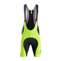 Monton 2015 Men's Hi Vis Cycling Bib Shorts Wholesale Neon Yellow