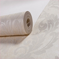 2014 High Quality Good price beautiful new modern natural material environmental non woven commercial acoustical wallpaper