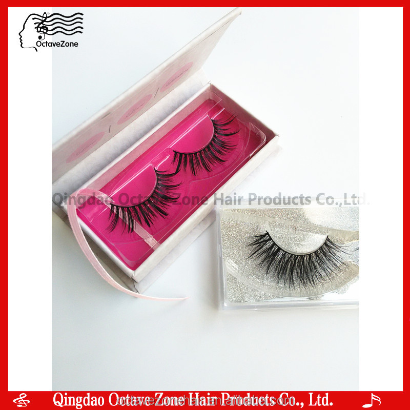 Remy Eyelashes False Eyelashes OEM Custom Brand Eyelash Packaging