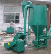 Animal Feed Machine, poultry feed smashing and mixing machne, automatic mixed feed machine