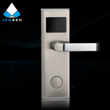 304 stainless steel economic hotel key card door lock