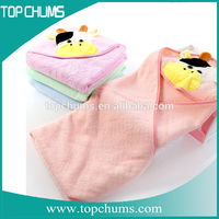 Premium quality 100% Organic Cotton Antibacterial baby hooded towel