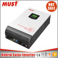 New 1kva to 5kva 24v/48v off grid pure sine wave DC to AC solar hybrid inverter with 80A MPPT controller
