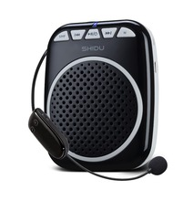 Rechargeable Voice Amplifier with UHF Wireless Microphone 10W Waistband Amplifiers for Teachers