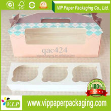 Alibaba China High Quality recycled cupcake packaging