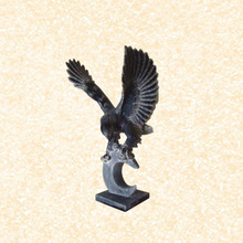 Stone Carving decorative garden stone eagle sculpture
