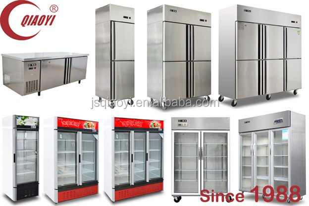 QIAOYI B3 Auto defrost glass door display chiller