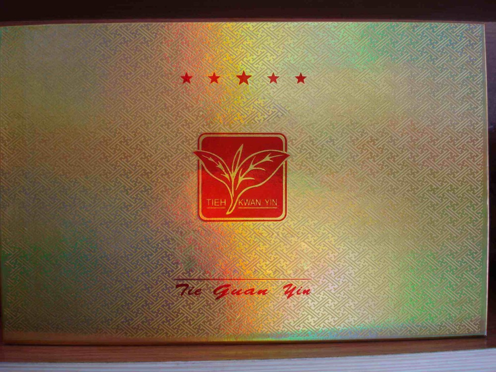 Gold, sliver, holographic color hot stamping foil for paper packaging & printing