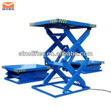 16 feet high stationary hydraulic grooming tables