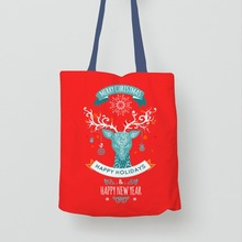 Pink Promotion Cotton Canvas Tote Bags With Your Logo