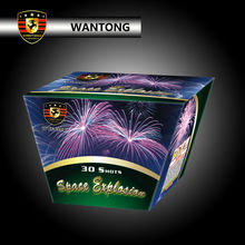30 shots wholesale display consumer cake fireworks