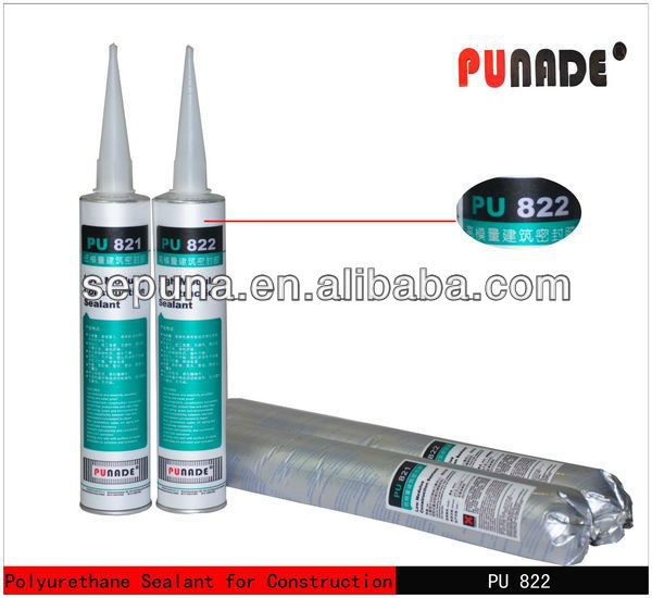 Sepuna factory -- Excellent flexible grade pu polyurethane construction bonding adhesive