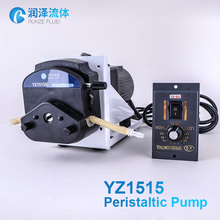 industrial chemical dosing peristaltic pump with speed controller