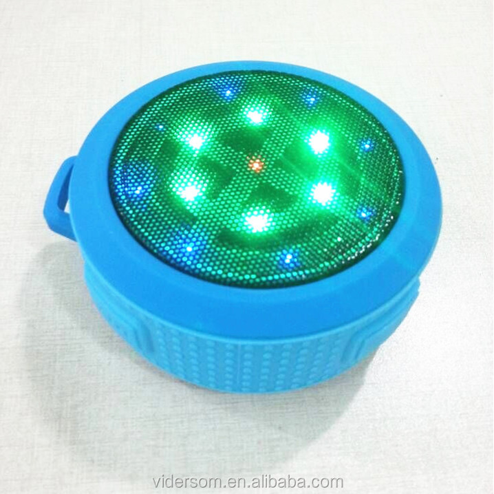 LED Flash Light Waterproof Portable Bluetooth Speaker VSB-205